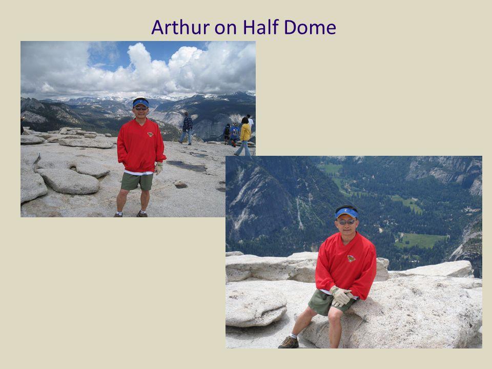Arthur on Half Dome