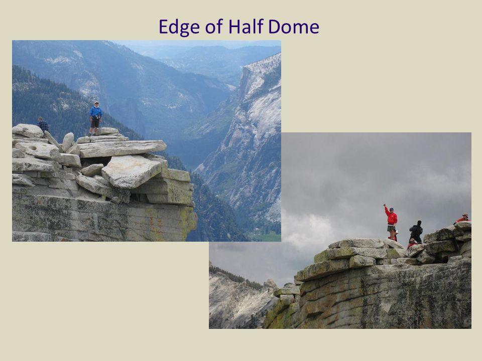 Edge of Half Dome