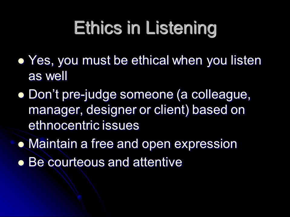 Ethics as IT professionals You should not plagiarize or steal the work of others You should not plagiarize or steal the work of others Global – stealing your entire proposal or idea and passing it off as your own Global – stealing your entire proposal or idea and passing it off as your own Patchwork - Stealing from two or three sources Patchwork - Stealing from two or three sources Incremental – When you fail to give credit for parts of what you do Incremental – When you fail to give credit for parts of what you do