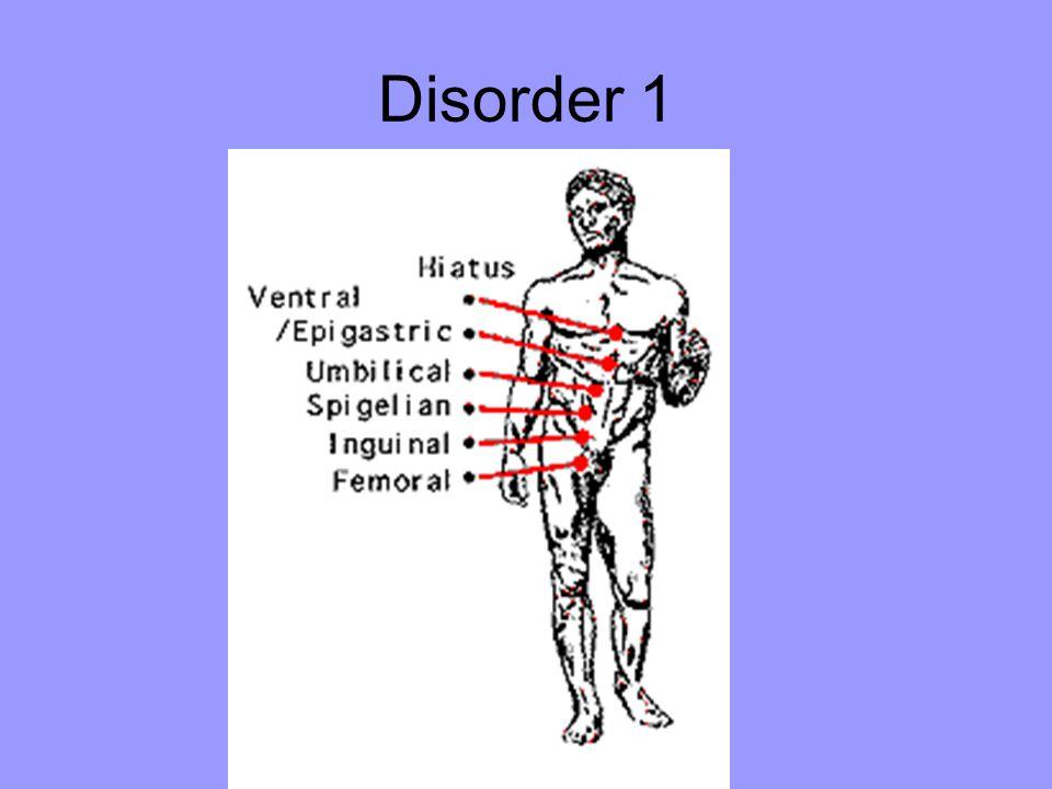 Disorder 1