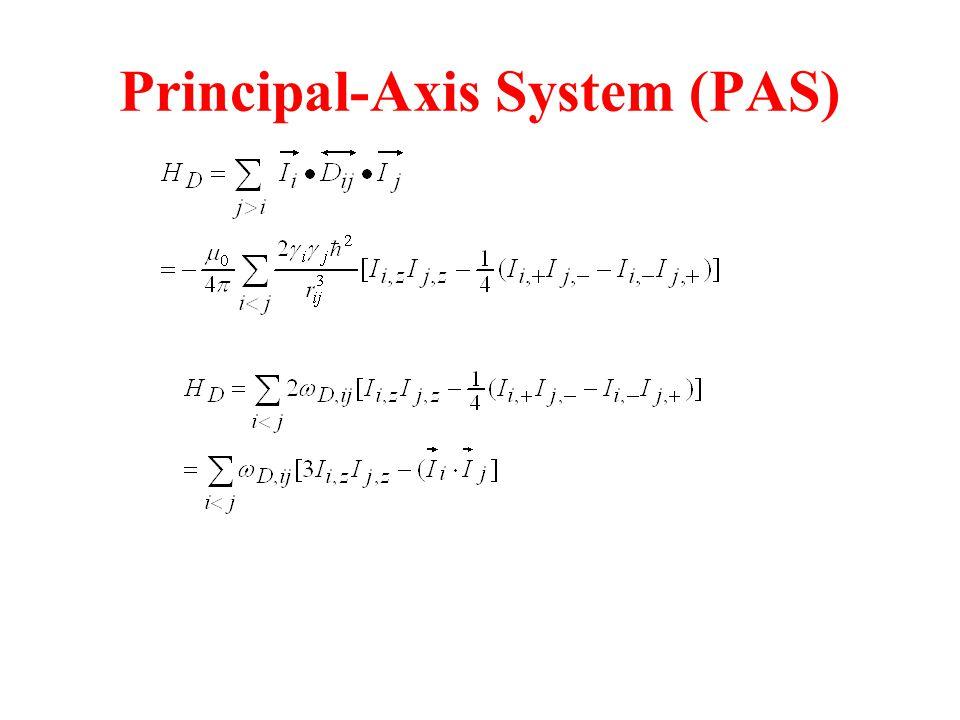 Principal-Axis System (PAS)