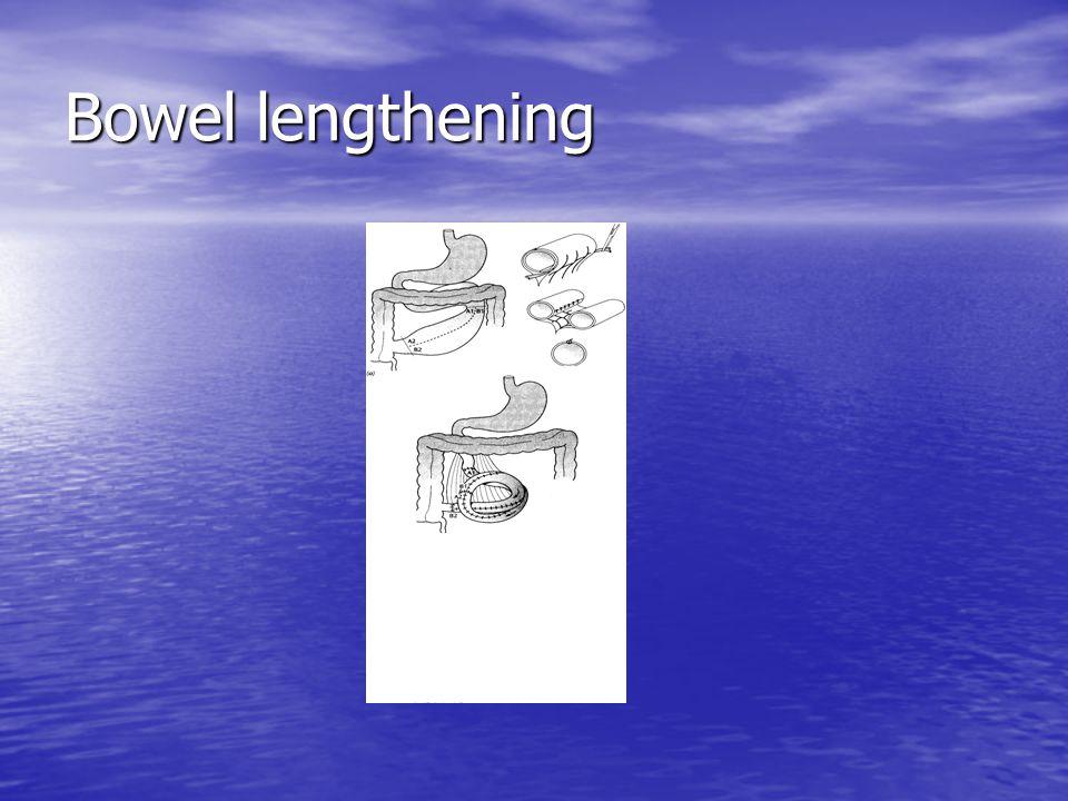 Bowel lengthening