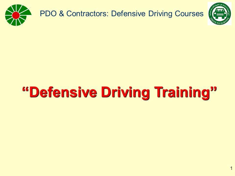 "PDO & Contractors: Defensive Driving Courses 1 ""Defensive Driving Training"""