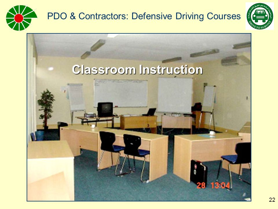 PDO & Contractors: Defensive Driving Courses 23 Vision testing