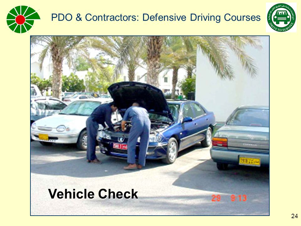 PDO & Contractors: Defensive Driving Courses 25 Roll-over simulator