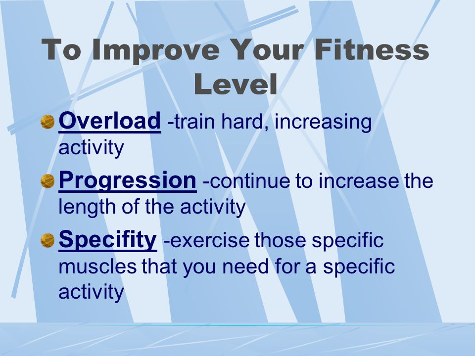 Steps to Begin a Fitness Plan Are you in or out of shape? Determine your goals. Develop a program that meets your needs.