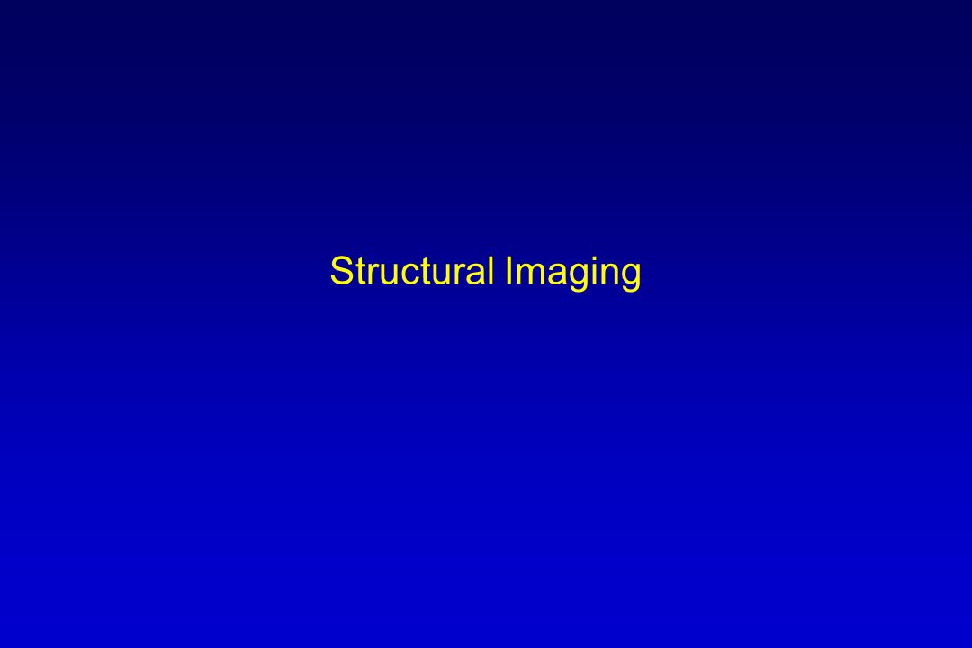 Structural Imaging