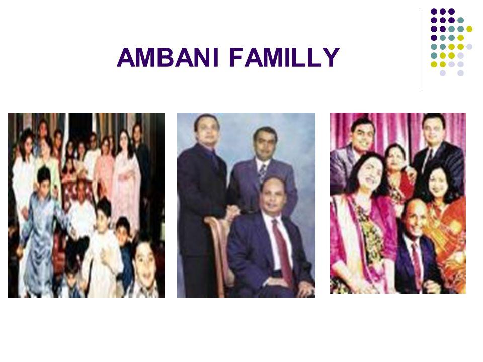 AMBANI FAMILLY