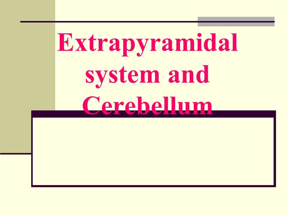 Extrapyramidal system and Cerebellum