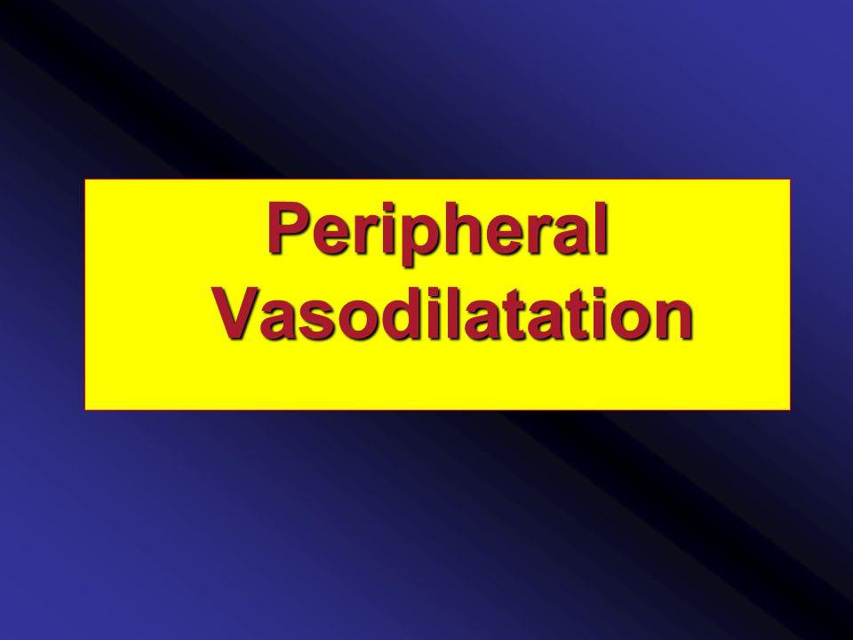 Peripheral Vasodilatation