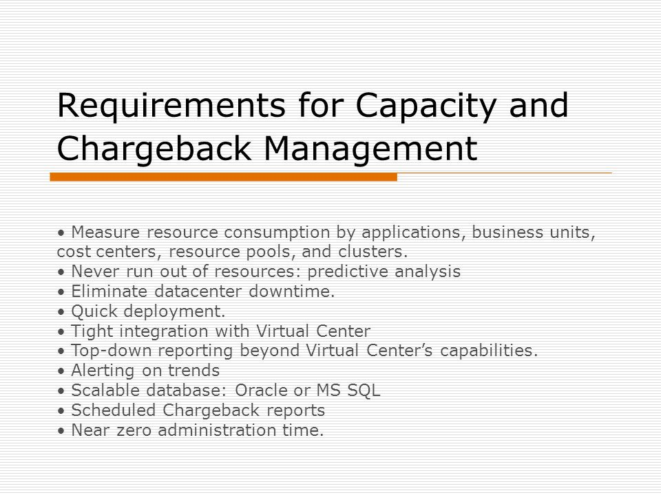 VKernel Features and Benefits  No installation or configuration needed: delivered as VMware Virtual appliance.