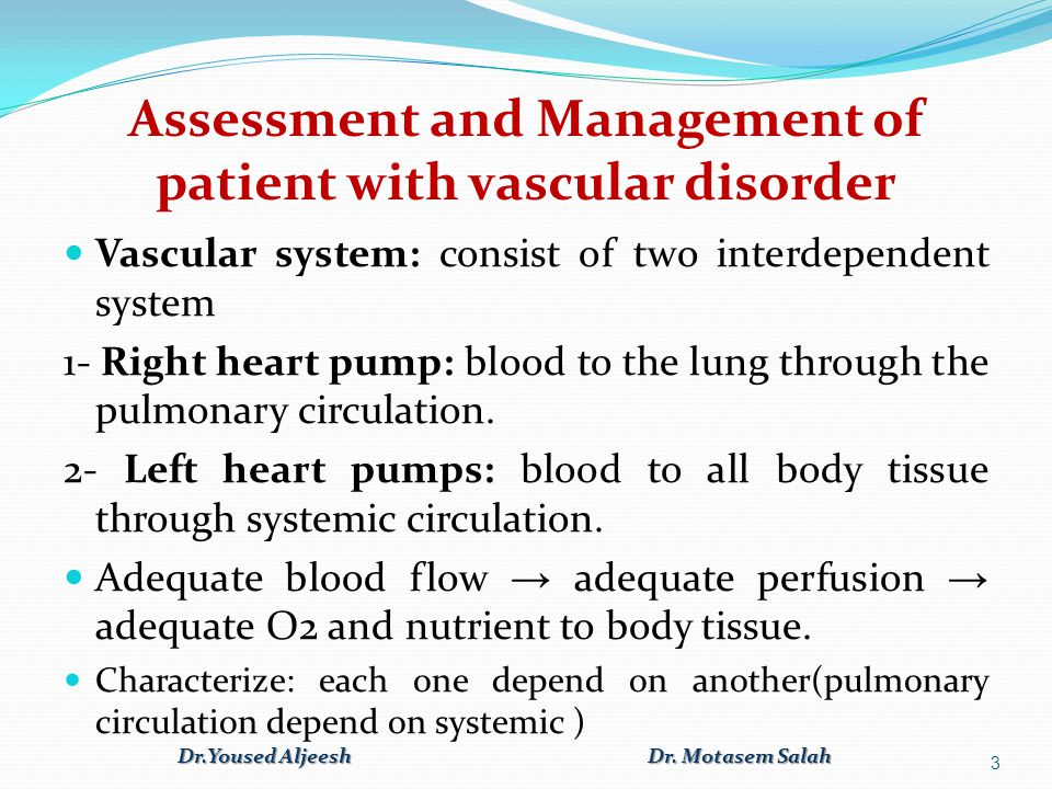Arteries: distribute oxygenated blood from the left side of the heart to the tissues [ blood distribution] Veins: carry deoxygenated blood from the tissues to the right side of the heart.