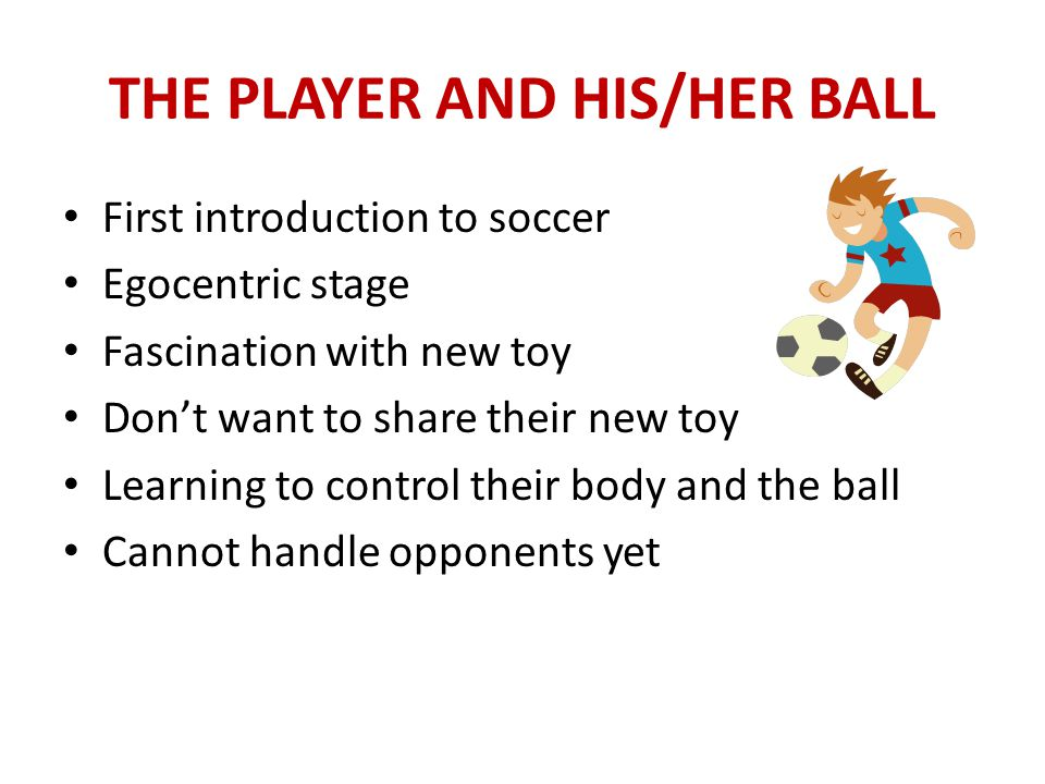 OBJECTIVES OF THE COURSE Understand characteristics of U-6/U-8 Understand their needs and capabilities Able to organize appropriate practice sessions Understand the importance of dribbling KINS Program Understand rationale of Small-Sided Soccer Become a comfortable and confident coach