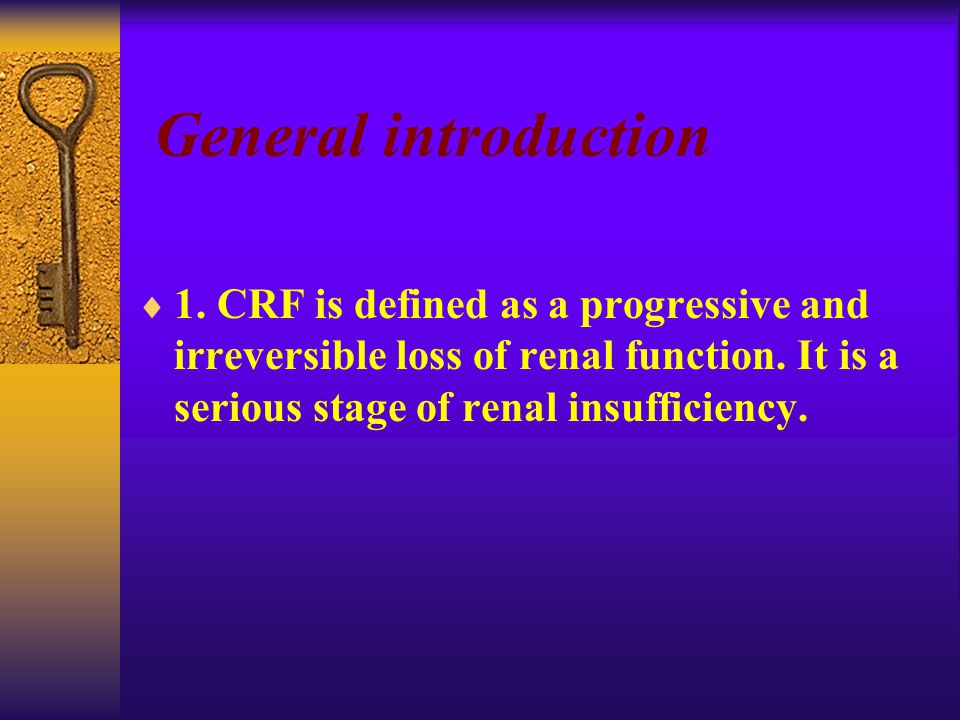  Proteinuria  Red cells  Casts red cell casts granular and hyaline casts large chronic RF cast (wax)  glycosuria Clinical findings Laboratory findings