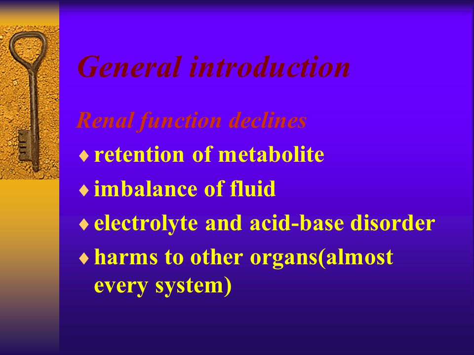 Metabolic disorders  A.low temperature.  B. Abnormality of glucose metabolism.