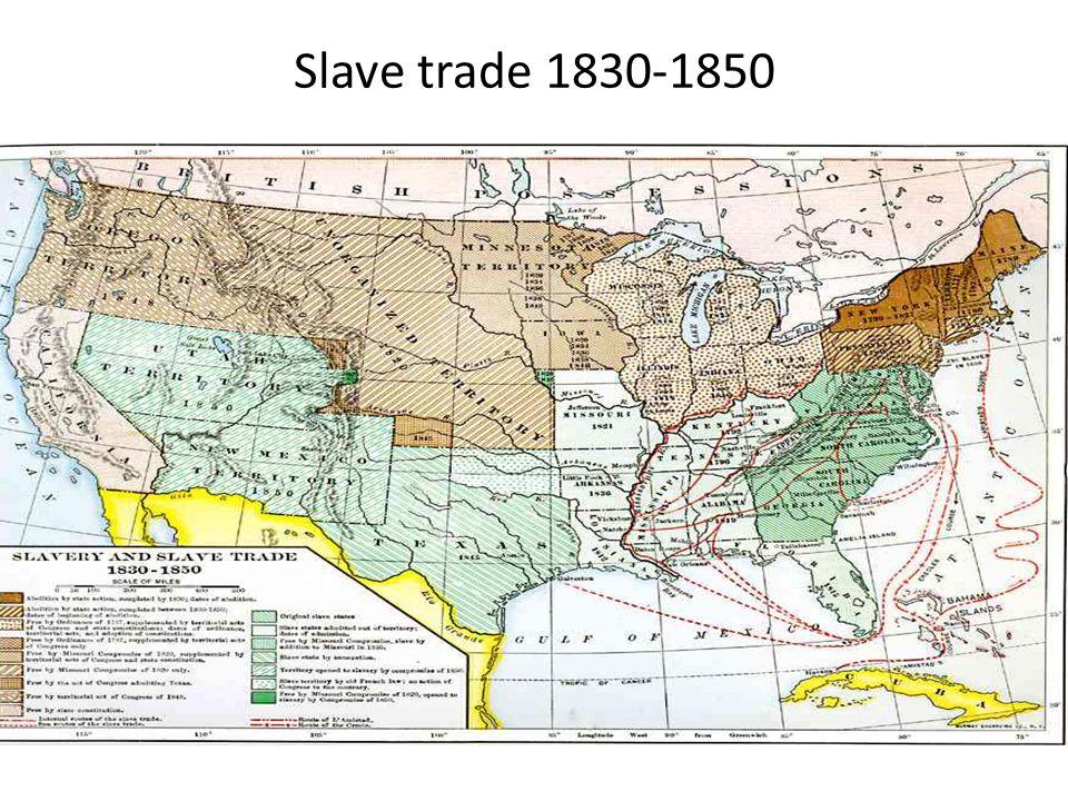 Slave trade 1830-1850