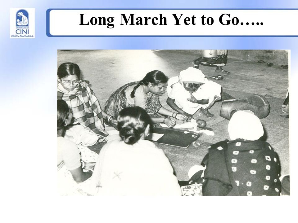 Long March Yet to Go…..