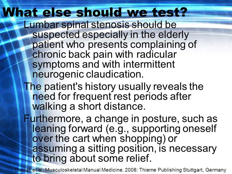 What else should we test.