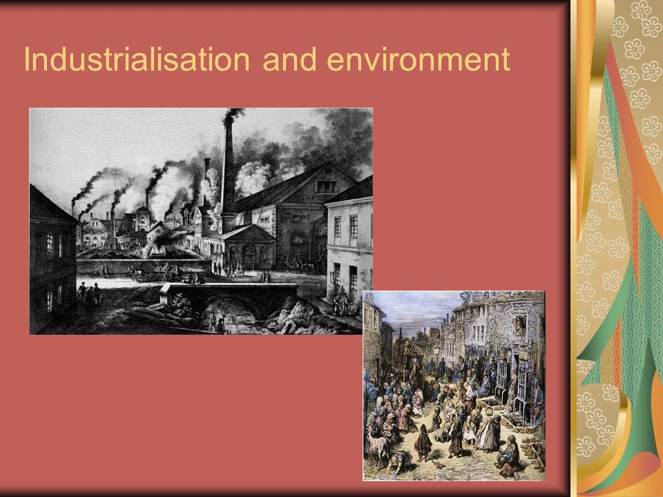Industrialisation and environment