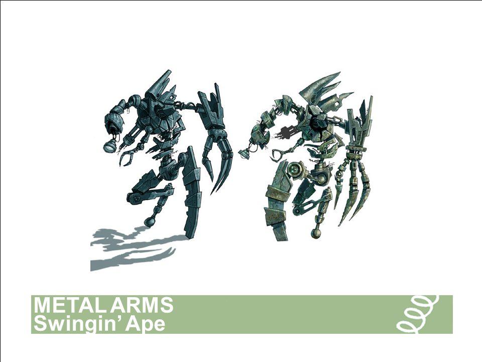 METAL ARMS Swingin' Ape