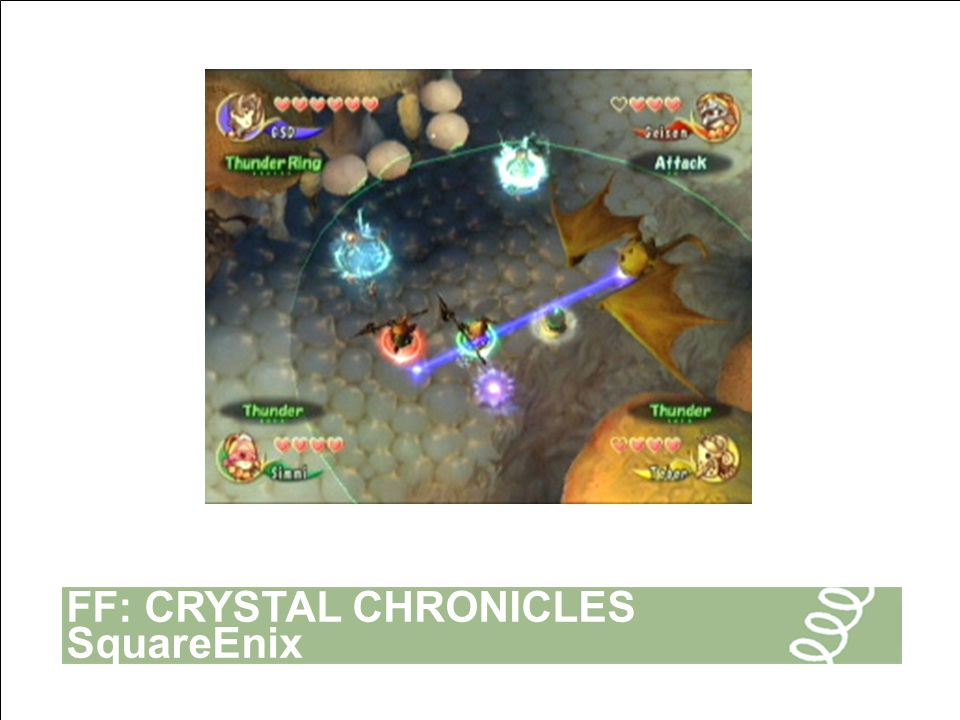 FF: CRYSTAL CHRONICLES SquareEnix