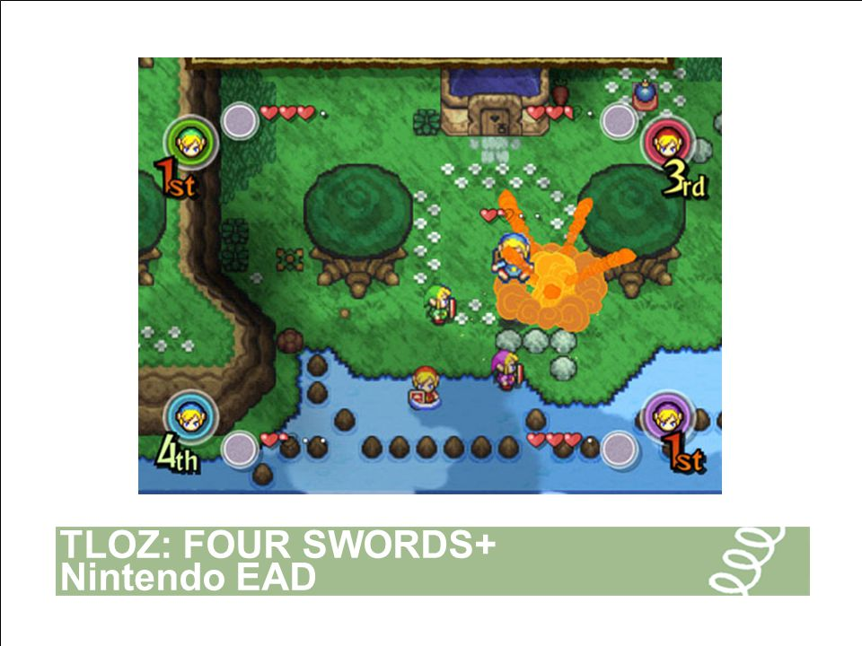 TLOZ: FOUR SWORDS+ Nintendo EAD