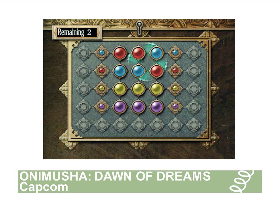 ONIMUSHA: DAWN OF DREAMS Capcom