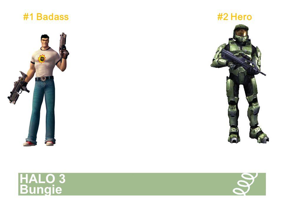 HALO 3 Bungie #1 Badass#2 Hero