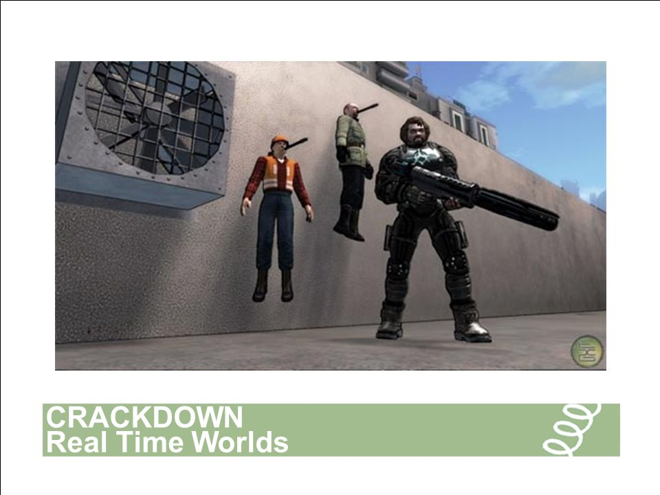 CRACKDOWN Real Time Worlds