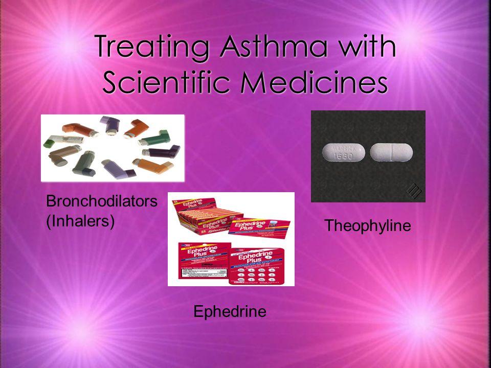 Treating Asthma with Scientific Medicines Bronchodilators (Inhalers) Ephedrine Theophyline