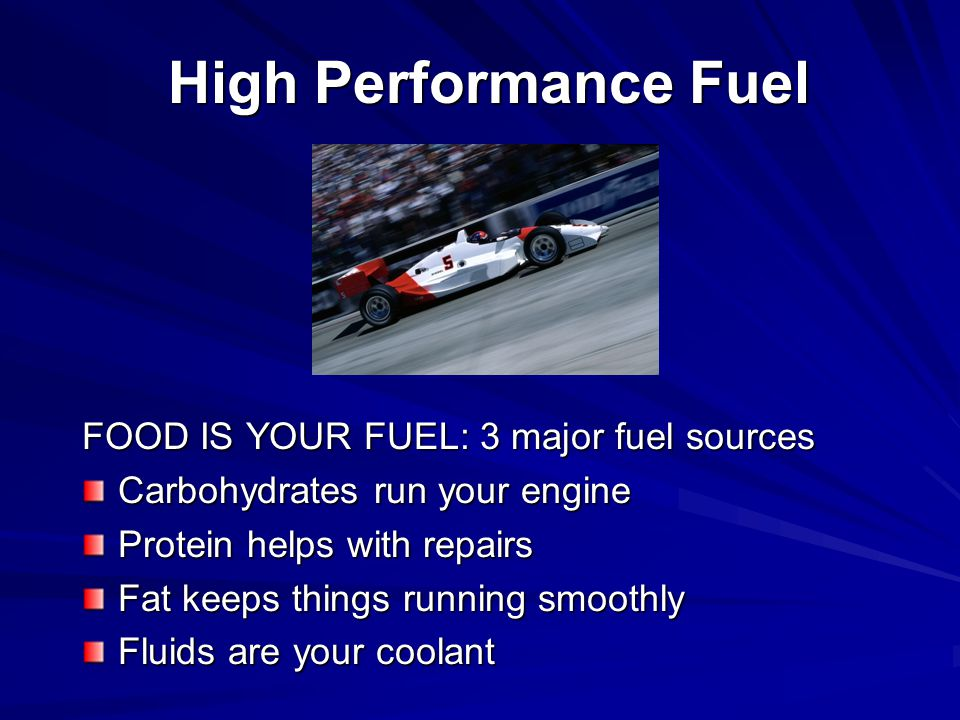 Fueling for Performance Healthy eating 101 What to eat before practice or competition Hydration and sports drinks Recovery