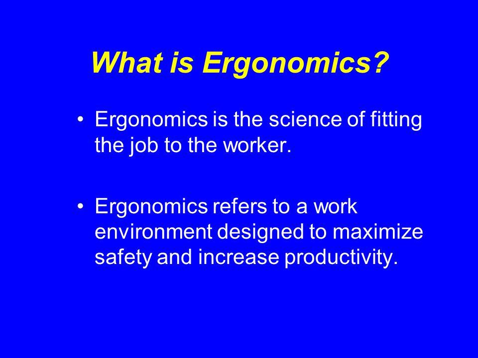 What is Ergonomics Gone Bad.