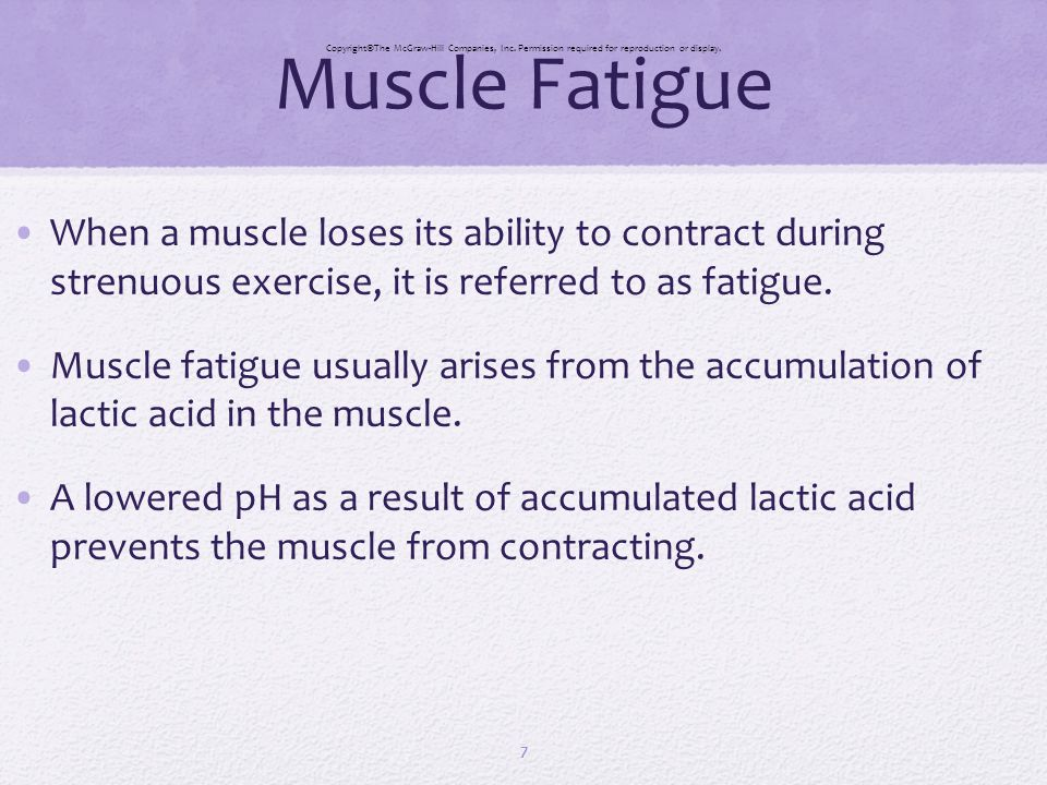 Effect of Exercise on Muscles Inactive muscles atrophy.