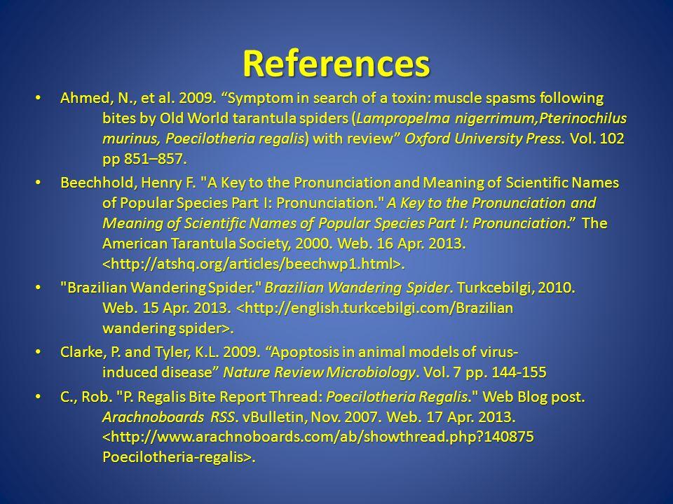 References Ahmed, N., et al.2009.