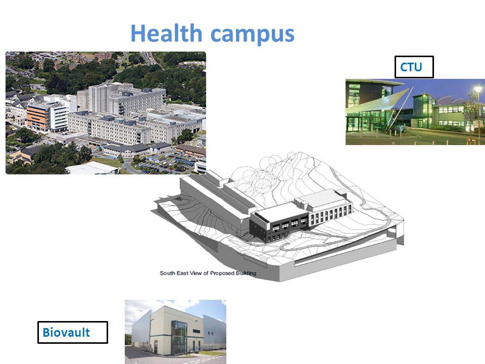 CTU Biovault Health campus