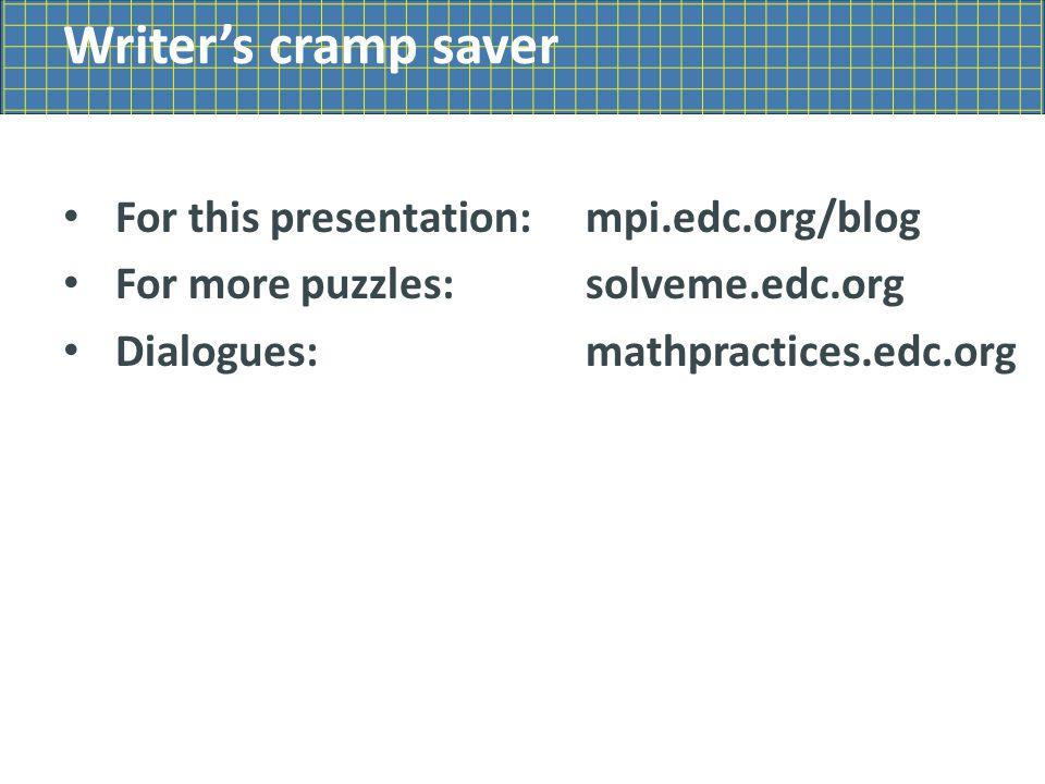 Who Am I? puzzles solveme.edc.org