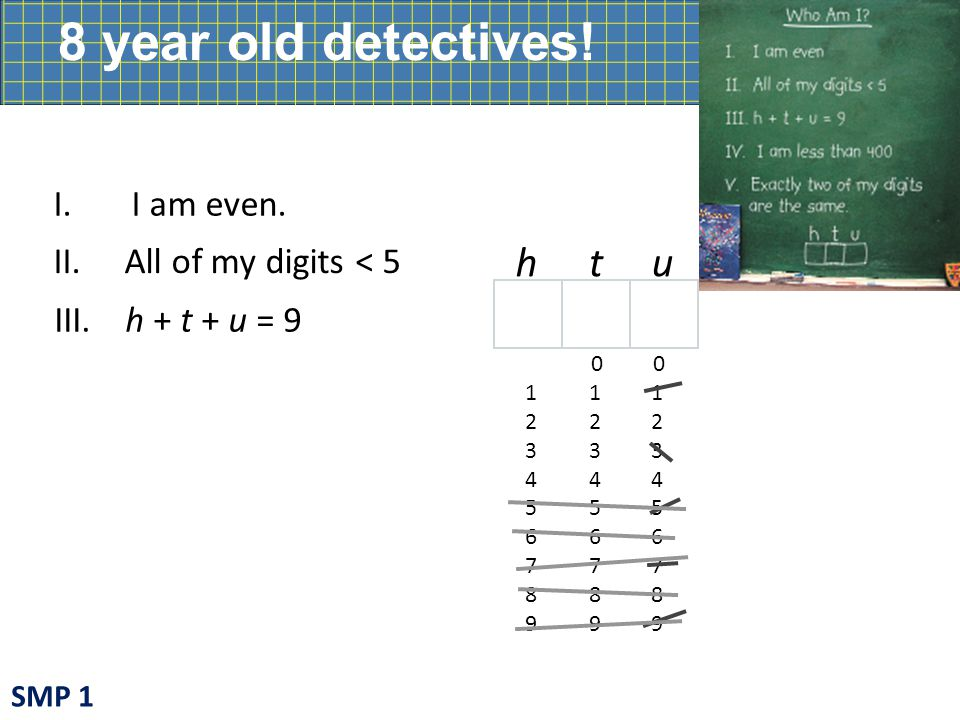 8 year old detectives.I. I am even.