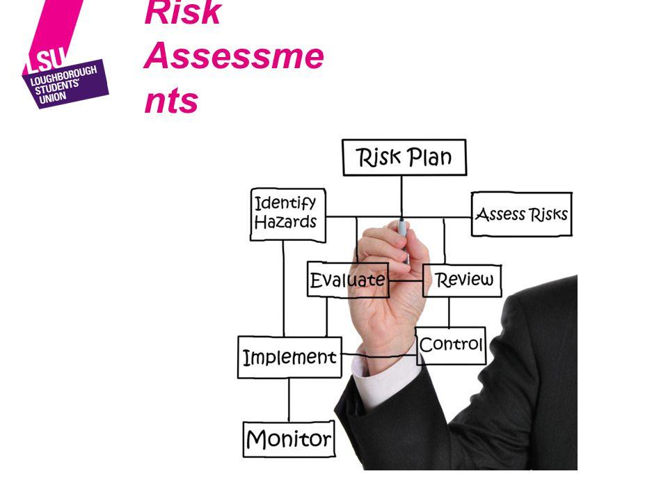Risk Assessme nts