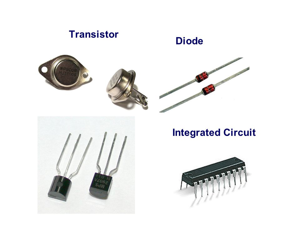 Transistor Diode Integrated Circuit