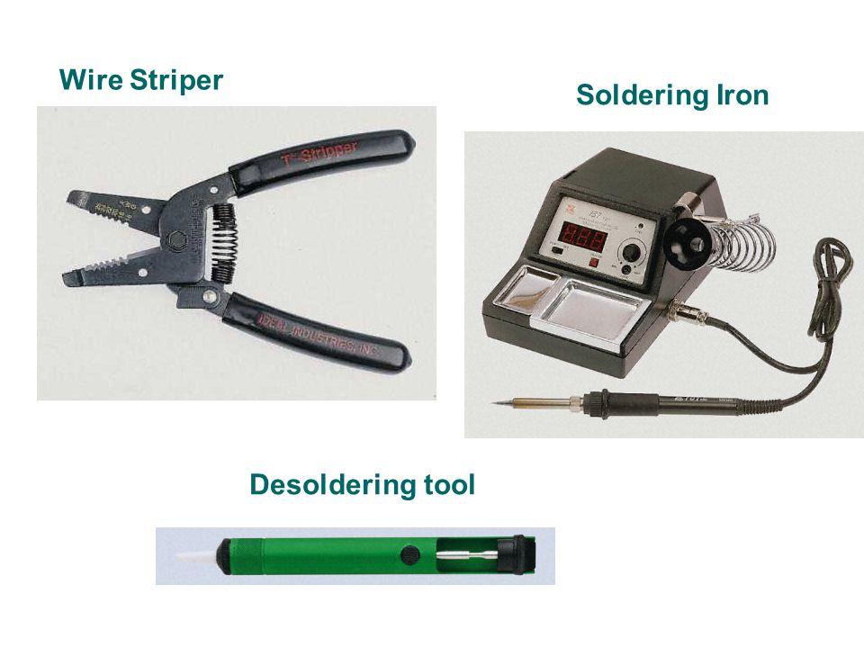Soldering Iron Wire Striper Desoldering tool