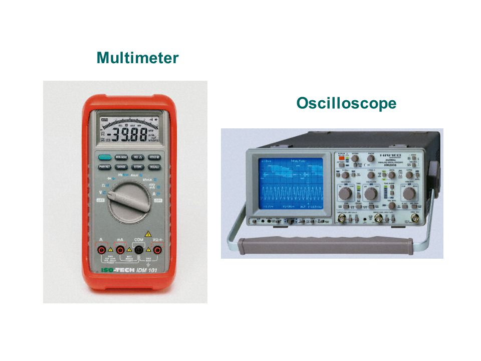 Multimeter Oscilloscope