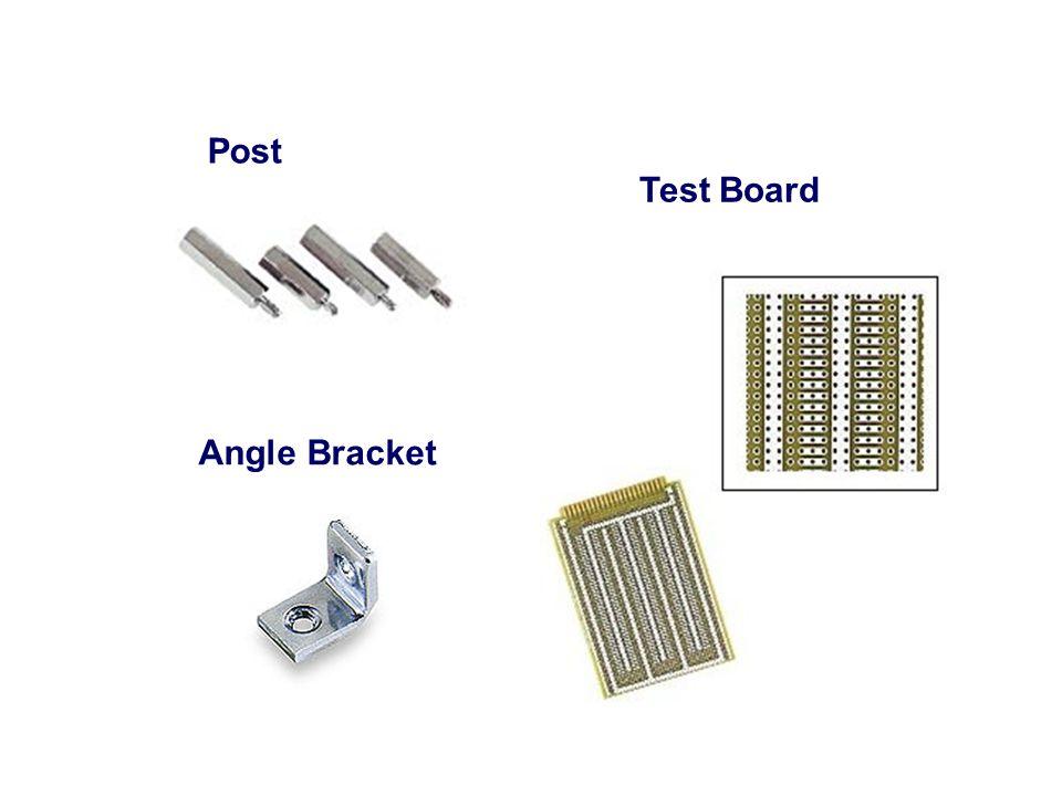 Post Test Board Angle Bracket