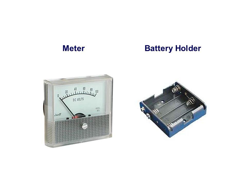 Meter Battery Holder