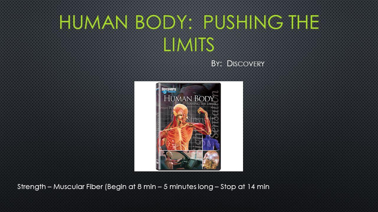 Strength – Muscular Fiber (Begin at 8 min – 5 minutes long – Stop at 14 min