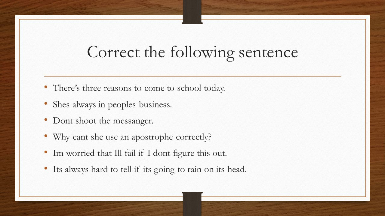 Use an apostrophe to form certain plurals In abbreviations that have periods M.D.'s Ph.D.'s P's and q's The instructor handed out a few A's.