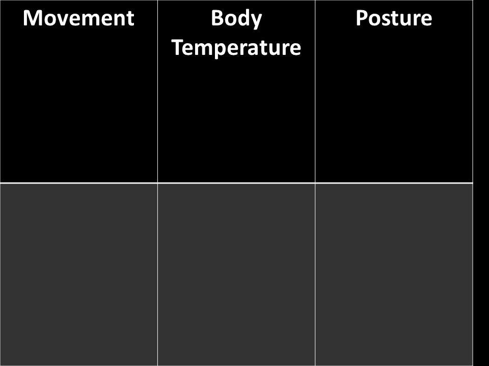MovementBody Temperature Posture