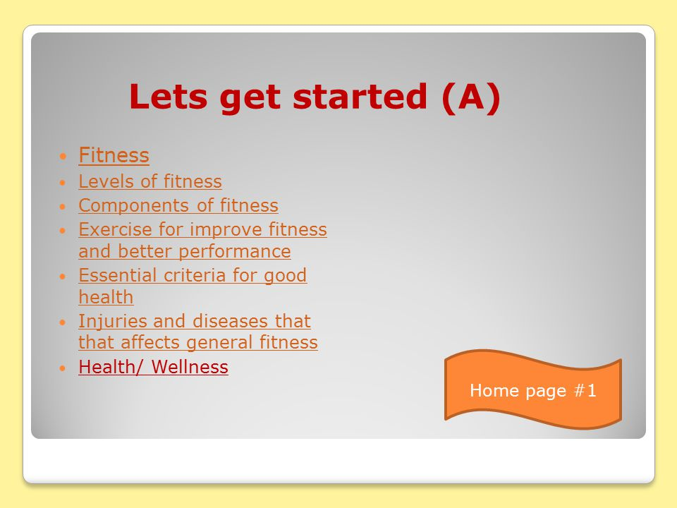 FITNESS, HEALTH, WELLNESS / COMPETENCE FITNESS, HEALTH, WELLNESS / COMPETENCE