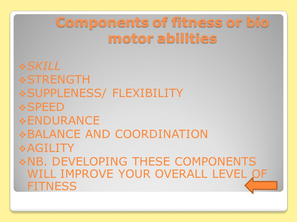 LEVELS OF FITNESS LEVELS OF FITNESS LEVELS CARDIOVASCULAR (HEART) MUSCULAR SKELETAL fitness (MUSCLES & BONES) PULMONARY (LUNGS) Neuro muscular fitness
