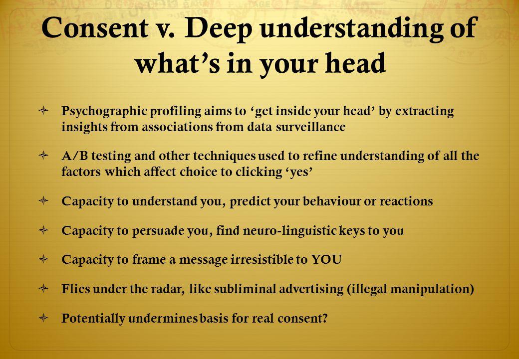 Consent v.
