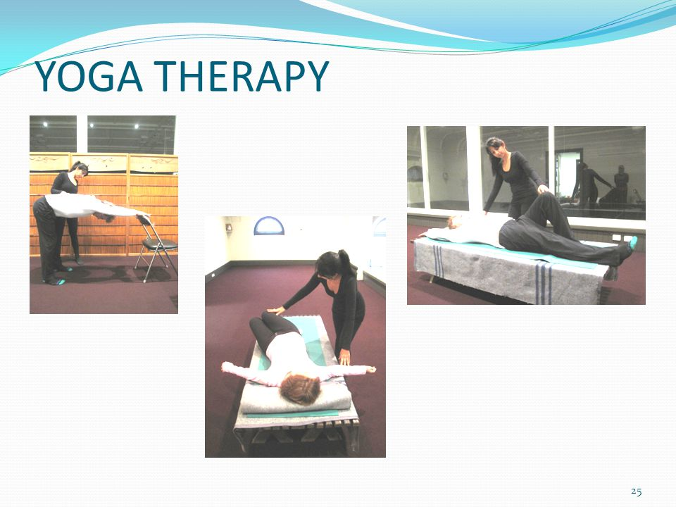 YOGA THERAPY 25